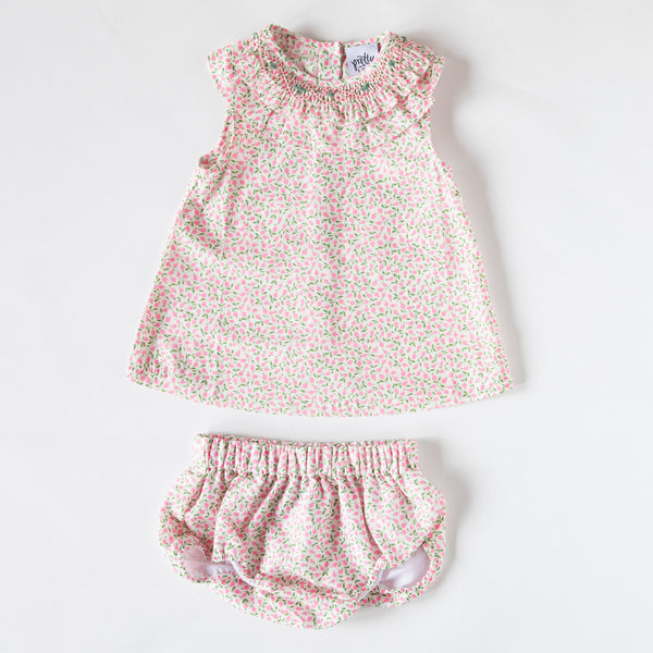 Pretty Wild Kids Baby Twin Set - Liberty Blush