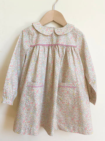 Pretty Wild Kids Bella Long Sleeve Dress - Liberty Spring Flowers