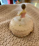 Ballerina Music Trinket Box