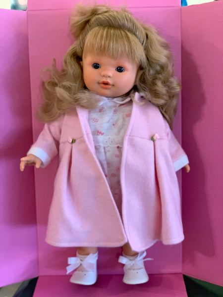 Baby Doll Blonde with Pink Outfit.