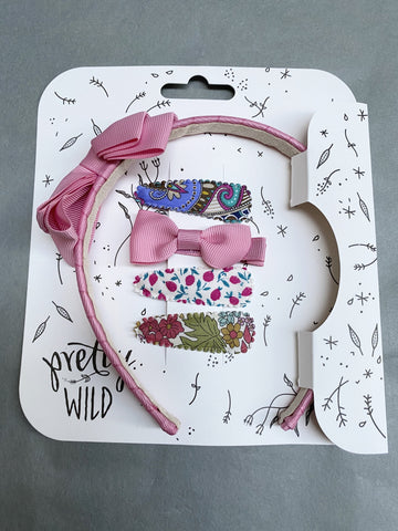 Pretty Wild Rosie with Polly Snaps Set: Rose