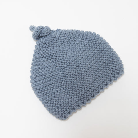 Knitted by Nana Beanie - Shadow 3-9M