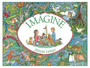 Imagine Board Book by Alison Lester