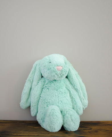 Jellyat Bashful Mint Bunny Medium