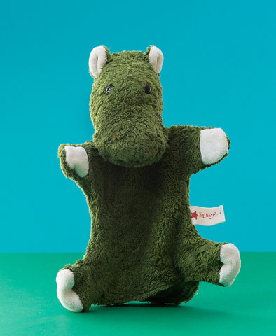 Kallisto German Hand Made Hand Puppet - Hippo
