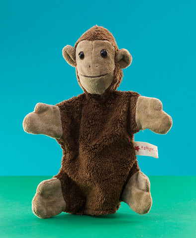 Kallisto German Hand Made Hand Puppet - Monkey