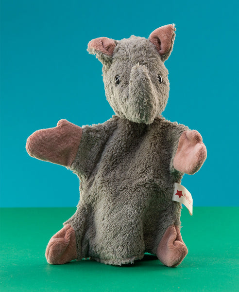 Kallisto German Hand Made Hand Puppet - Rhino