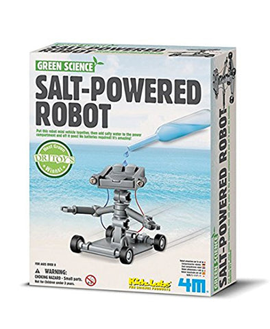 K.L Green Science - Salt Powered Robot