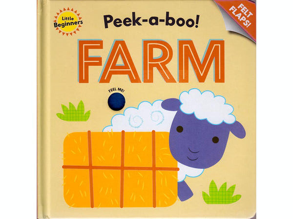 Peek A Boo Farm Flap Book