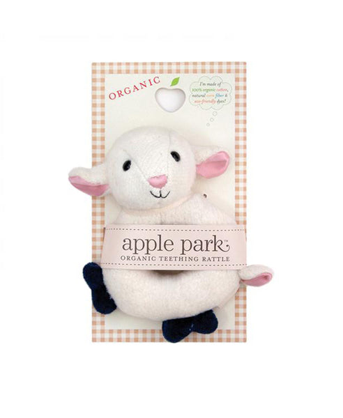 Apple Park Lamby Soft Rattle