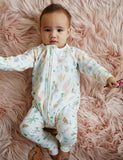 Halcyon NIghts Long Sleeve Zip Sleep Suit