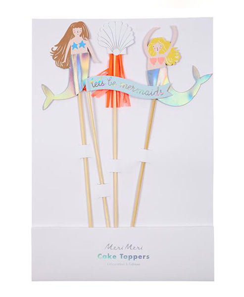 Meri Meri Lets Be Mermaids Cake Topper