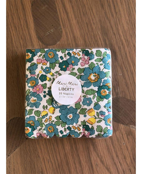 Liberty Aqua Haze Liberty Napkins Small
