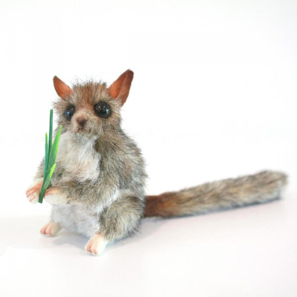 Hansa Leadbeater Possum Grey Plush 11cm