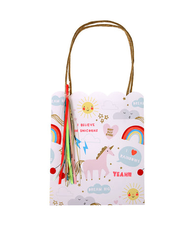 Meri Meri Unicorn Party Bag Set (8)