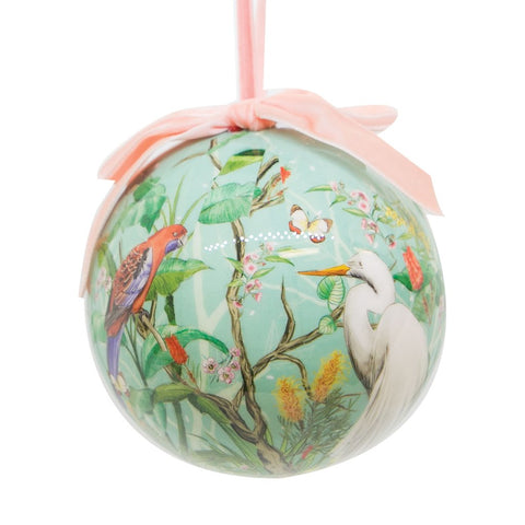 La La Land Single Extravagant Bauble Birds Chinoserie