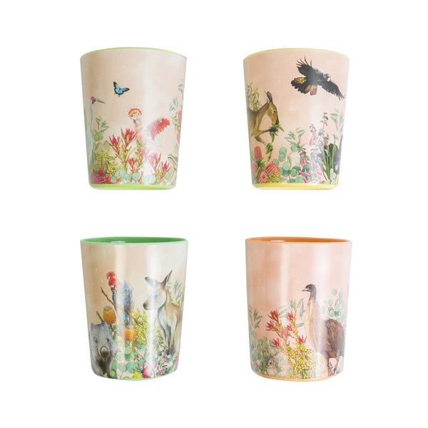 Lalaland Melamine Cup With Love From Downunder ASST DESIGNS
