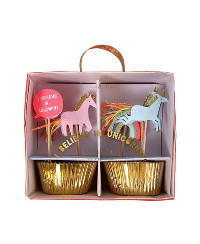 Meri Meri Unicorn Cupcake Kit