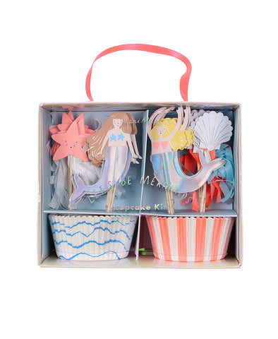 Meri Meri Lets Be Mermaids Cupcake Kit