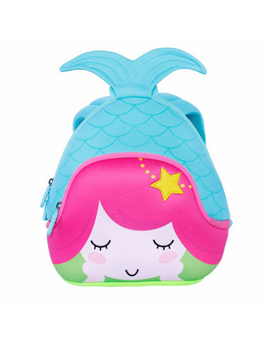 Nohoo Neoprene Bubbakids Backpack Mermaid Blue