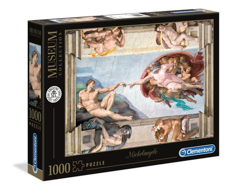 Clementoni Michaelanglo Creation of Man Jigsaw Puzzle 1000pc