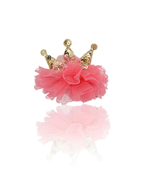 Milk & Soda Lil Princess Duck Clip - Rose Pink