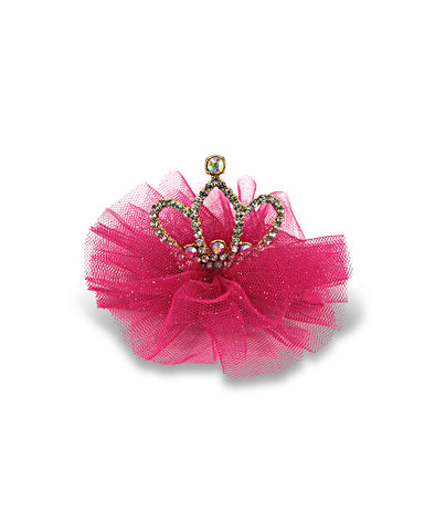 Milk & Soda Queen of Hearts Hair Clip - Pink