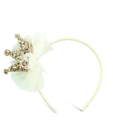 Milk & Soda Little Princess Headband - Ivory