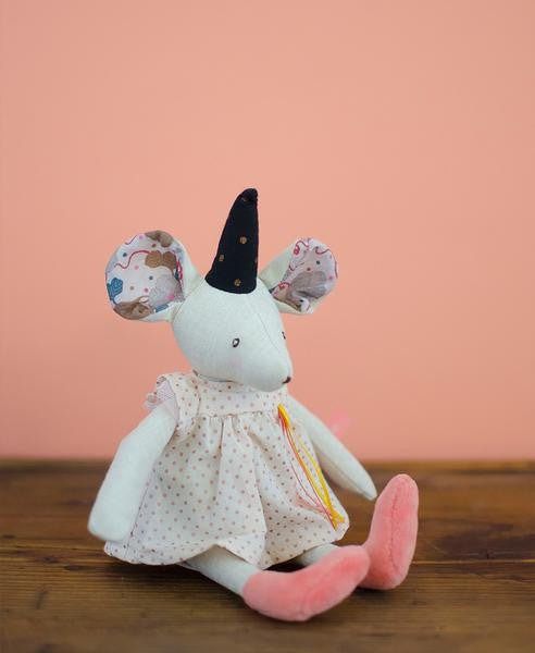 Moulin Roty Mouse with Crown