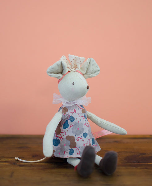 Moulin Roty Mouse Flower Dress