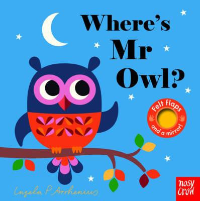 Where's Mr Owl? Felt Flap Book