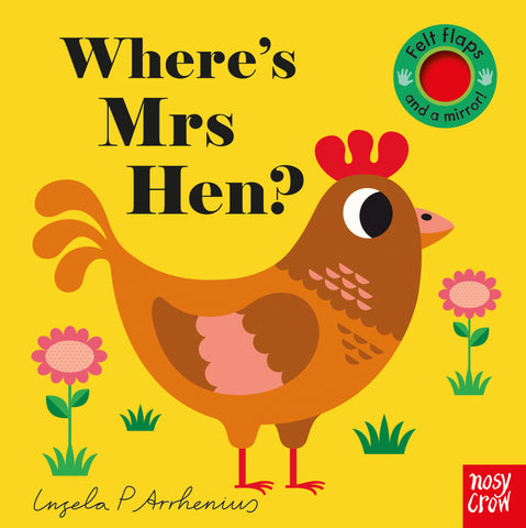 Where's Mrs Hen? Felt Flap Book