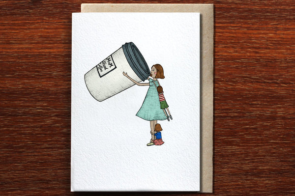 The Nonsense Maker Mum Sized Coffee Card