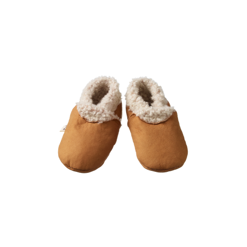 Nature Baby Lambskin Booties Straw