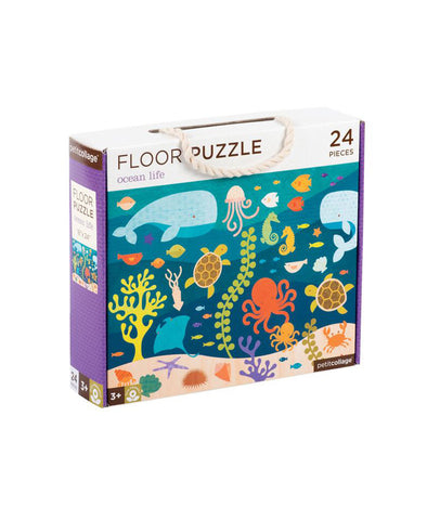 Petit Collage - Ocean Life Floor Puzzle