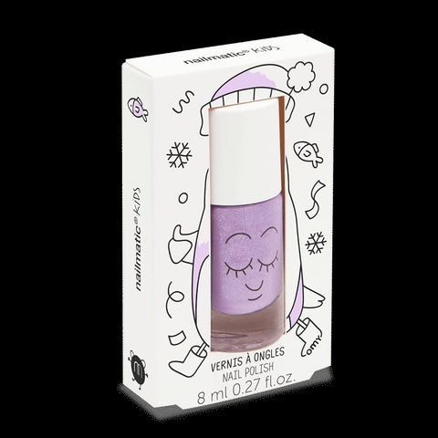 Nailmatic Kids Nail Polish: Glitter Purple