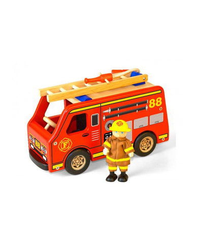 Pintoy Fire Engine w. Fireman