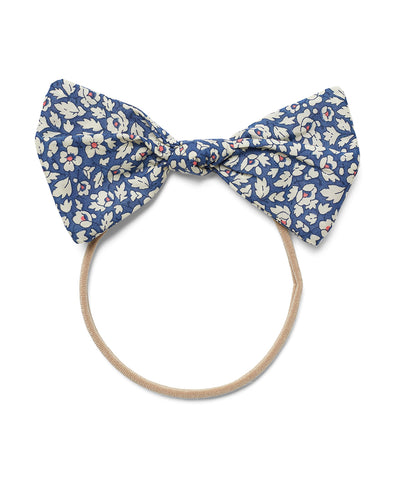Pretty Wild Lucille Bow Elastic Headband Feather Fields