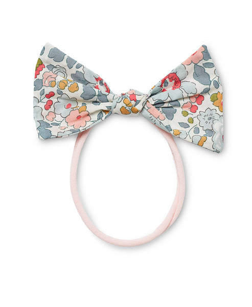 Pretty Wild Lucille Bow Elastic Headband Powder Blue