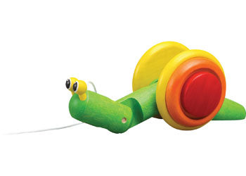 PlanToys Pull Along Snail