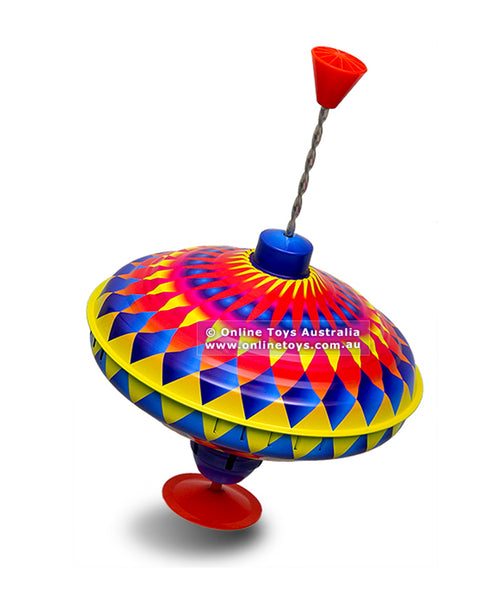 Bolz 22cm Humming Spinning Top Rainbow