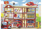 Ravensburger Firehouse Frenzy 100 Piece Jigsaw Puzzle