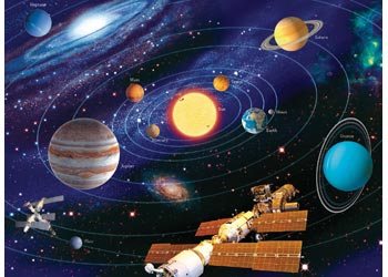Ravensburger The Solar System 200 Piece Jigsaw Puzzle