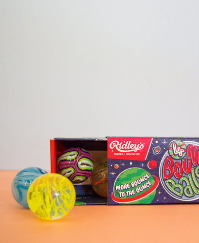 Ridley's Utopia Bouncy Balls (Set of 3)
