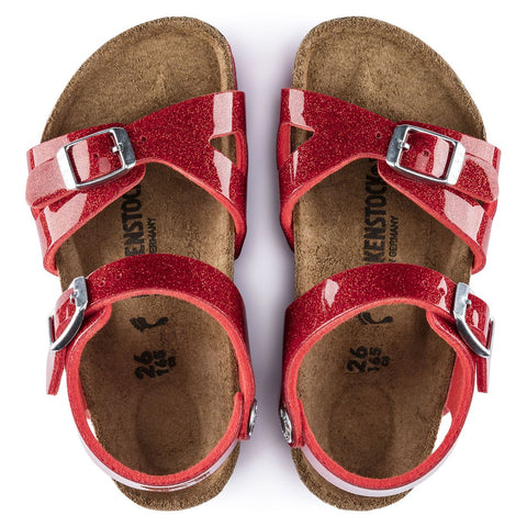 Birkenstock Rio BF Magic Galaxy Sandal Red