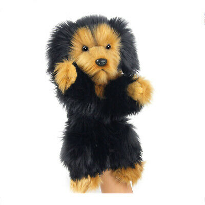 Hansa Long Haired Dachshund Hand Puppet 35cm