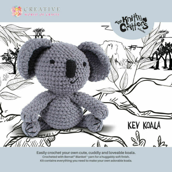 The Knitty Critters Collection - Kev Koala