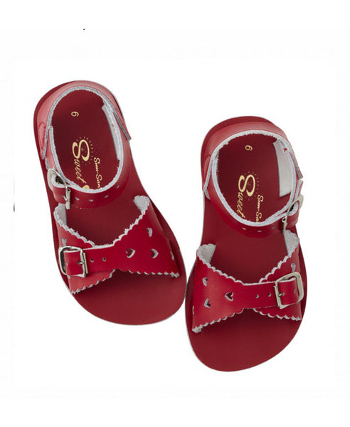 Salt Water Sun-San Sweetheart Sandal - Red