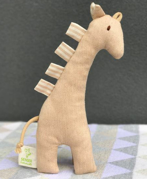 Senger All Natural Giraffe Grasping Toy