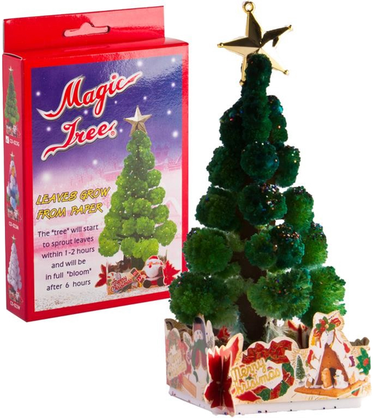 Grow a Magic Christmas Tree